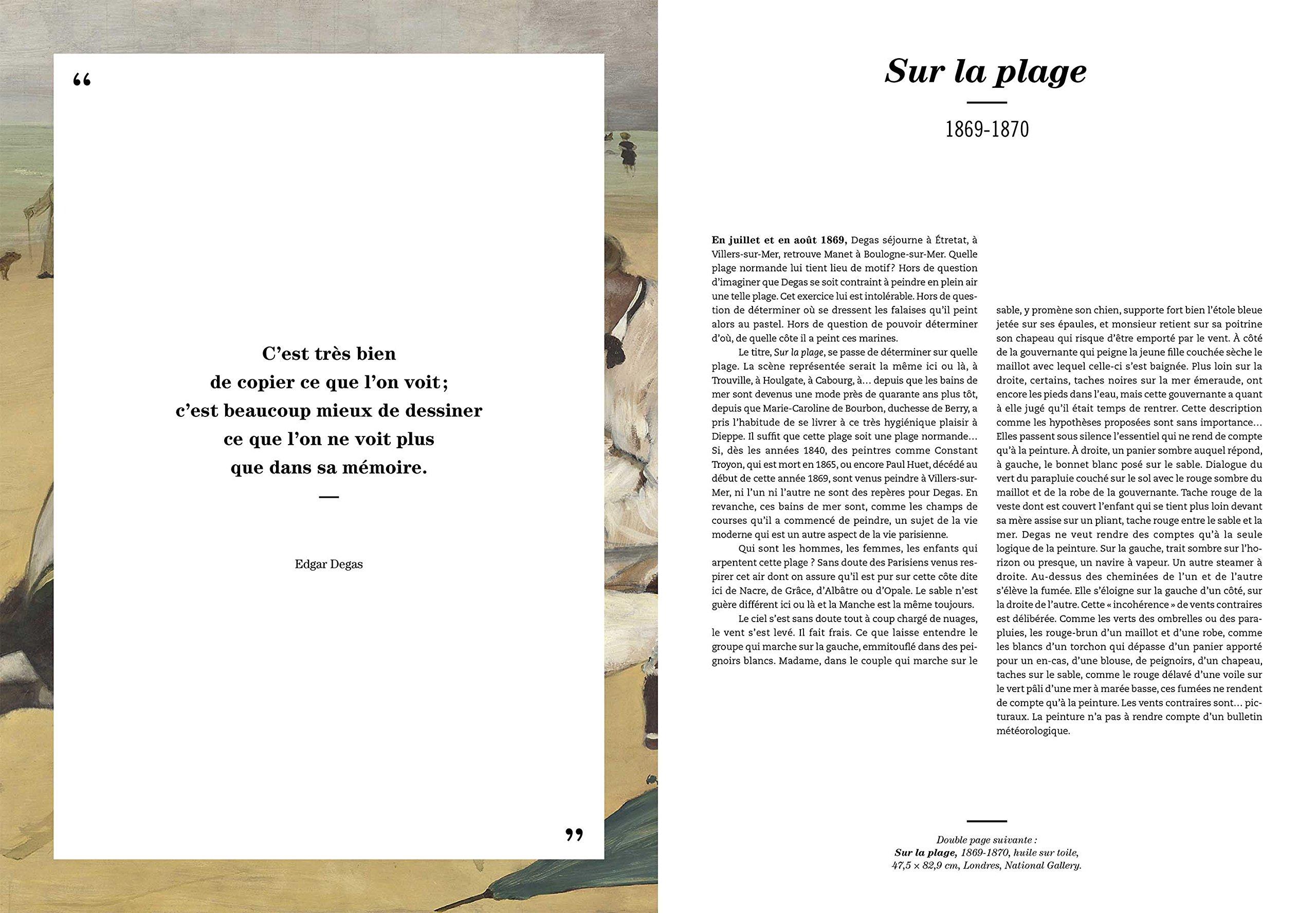 Amazon.fr - Les 100 tableaux qui racontent Degas - Pascal Bonafoux - Livres