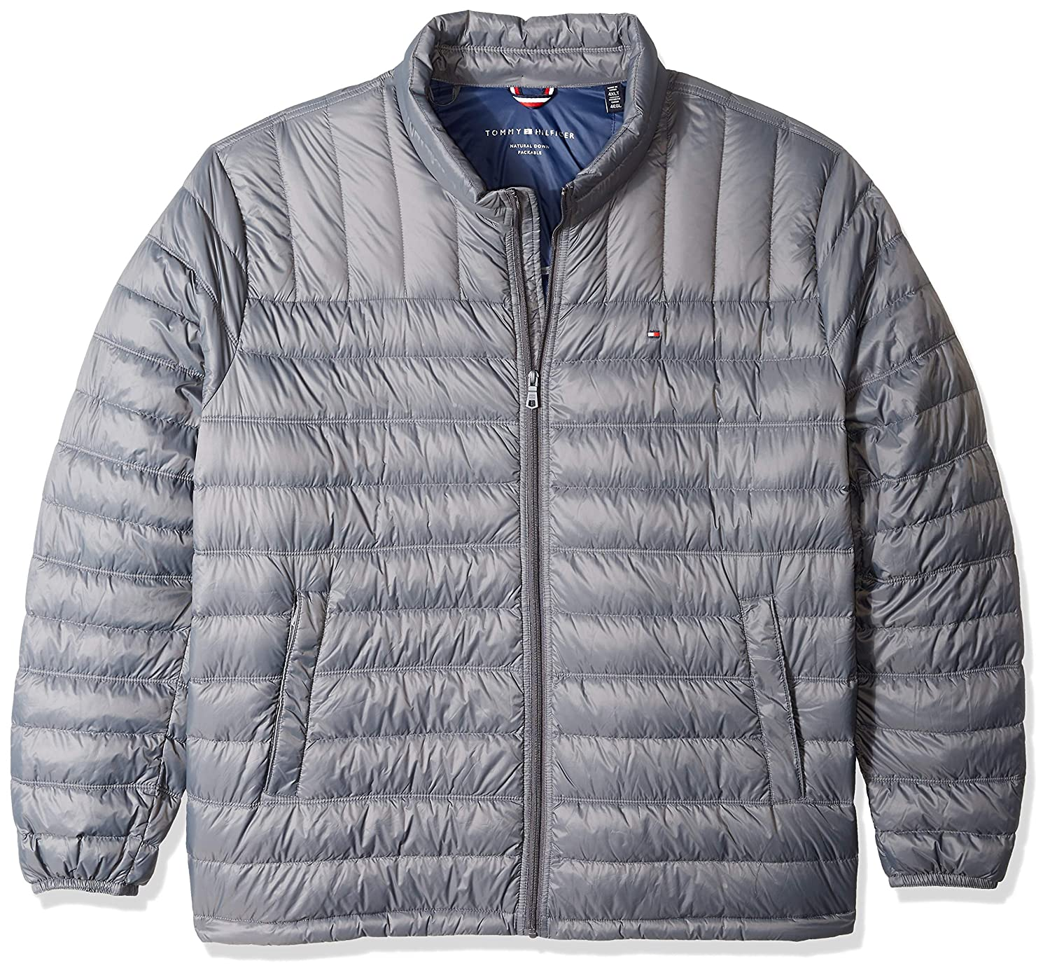 43e13631 Tommy Hilfiger Men's Packable Down Jacket (Regular and Big & Tall Sizes) at  Amazon Men's Clothing store:
