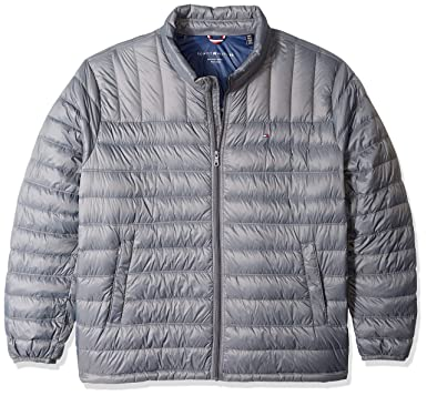 359cfa53 Tommy Hilfiger Men's Packable Down Jacket (Regular and Big & Tall Sizes),  Charcoal