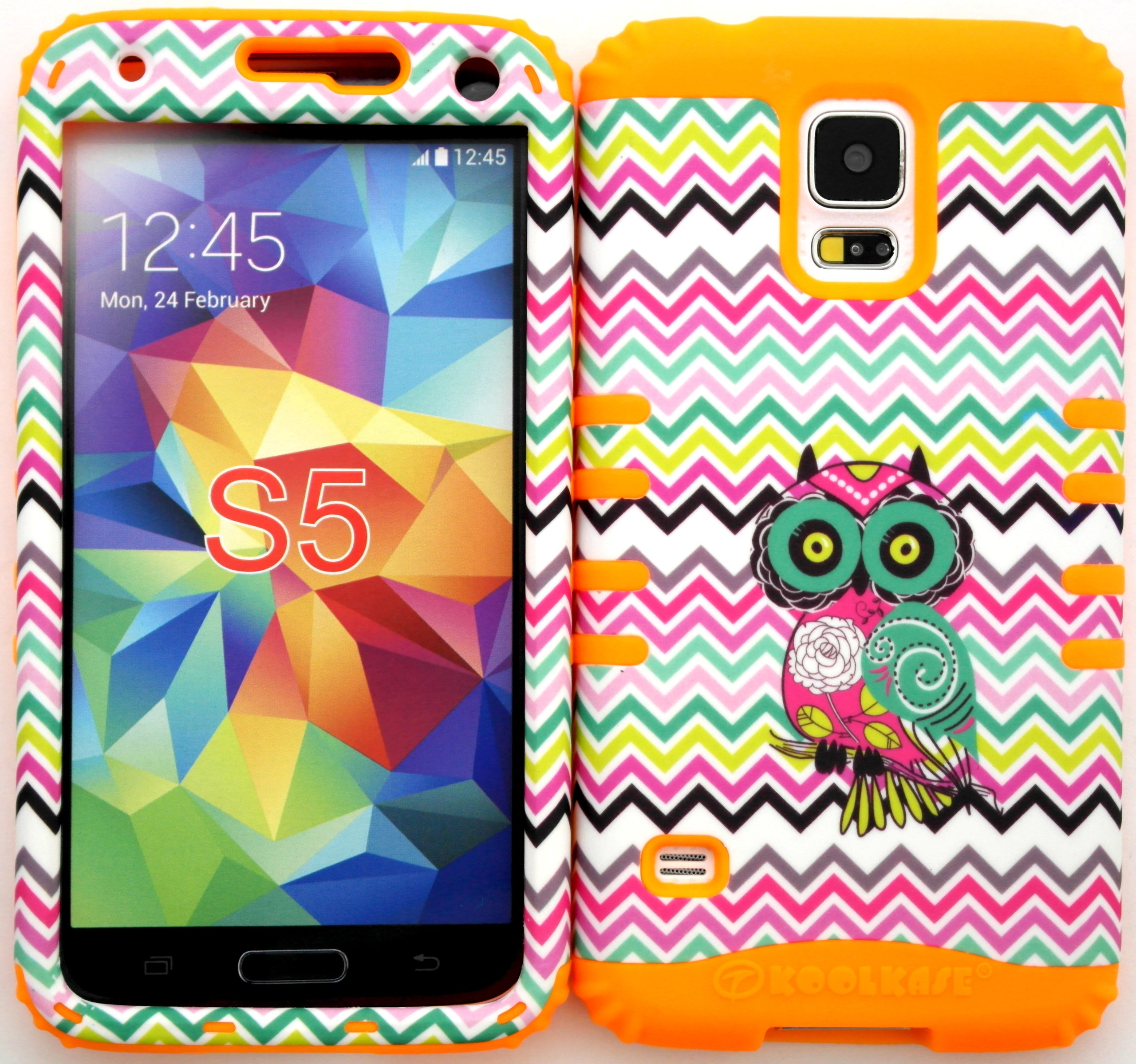 Wireless Fones TM Samsung Galaxy S5 Case Dual Layer