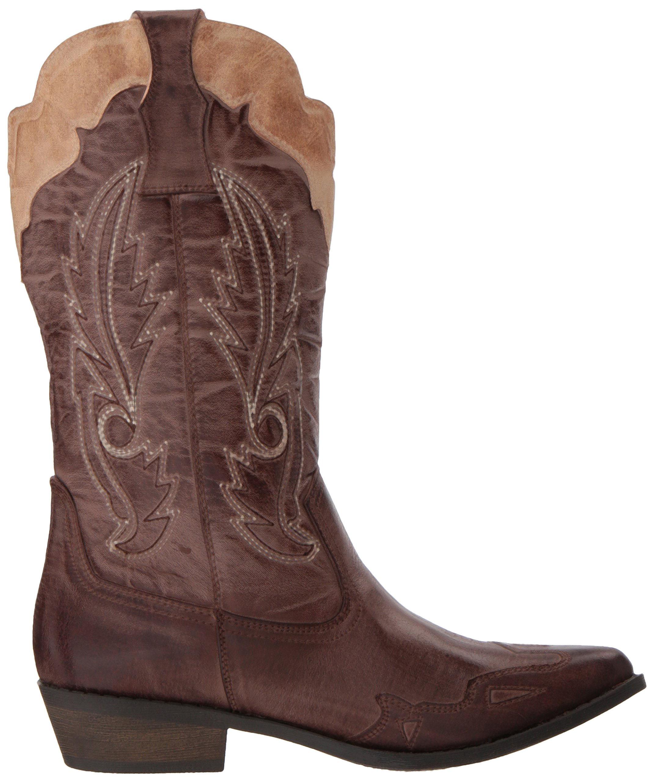 Coconuts by Matisse Women's Cimmaron Boot,Choco/Beige,10 M US by Coconuts by Matisse (Image #7)