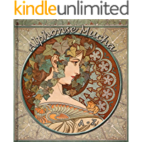 Alphonse Mucha A-Z: 200 Art Nouveau Reproductions - Annotated Series