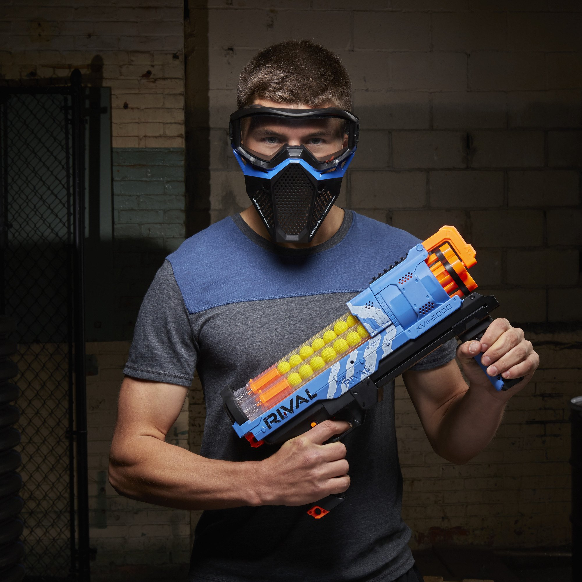 NERF Rival Artemis XVII-3000 Blue by NERF (Image #8)