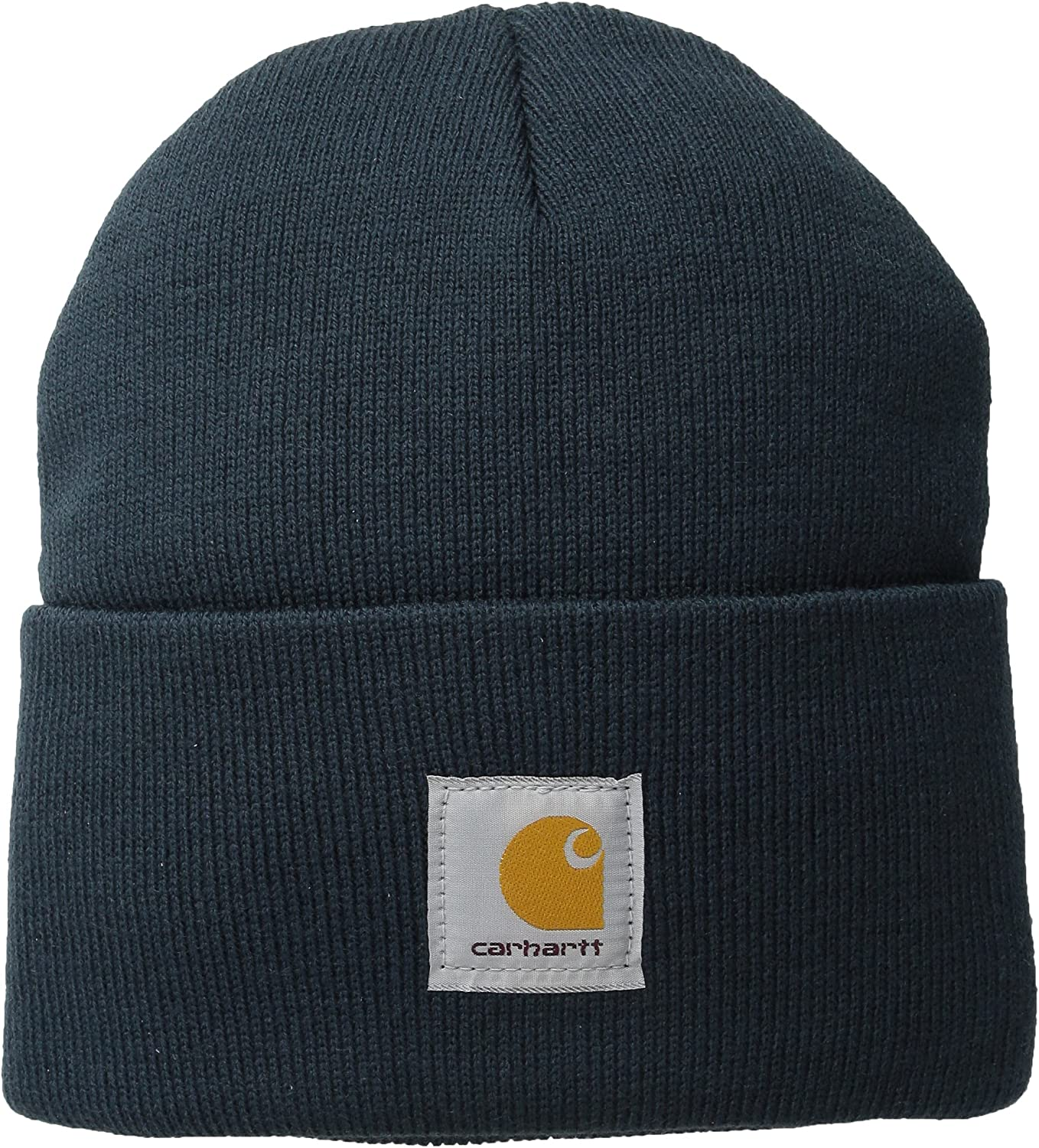 Carhartt Women's Acrylic Rib Knit Watch Hat, Deep Wine, One Size at  Men's Clothing store