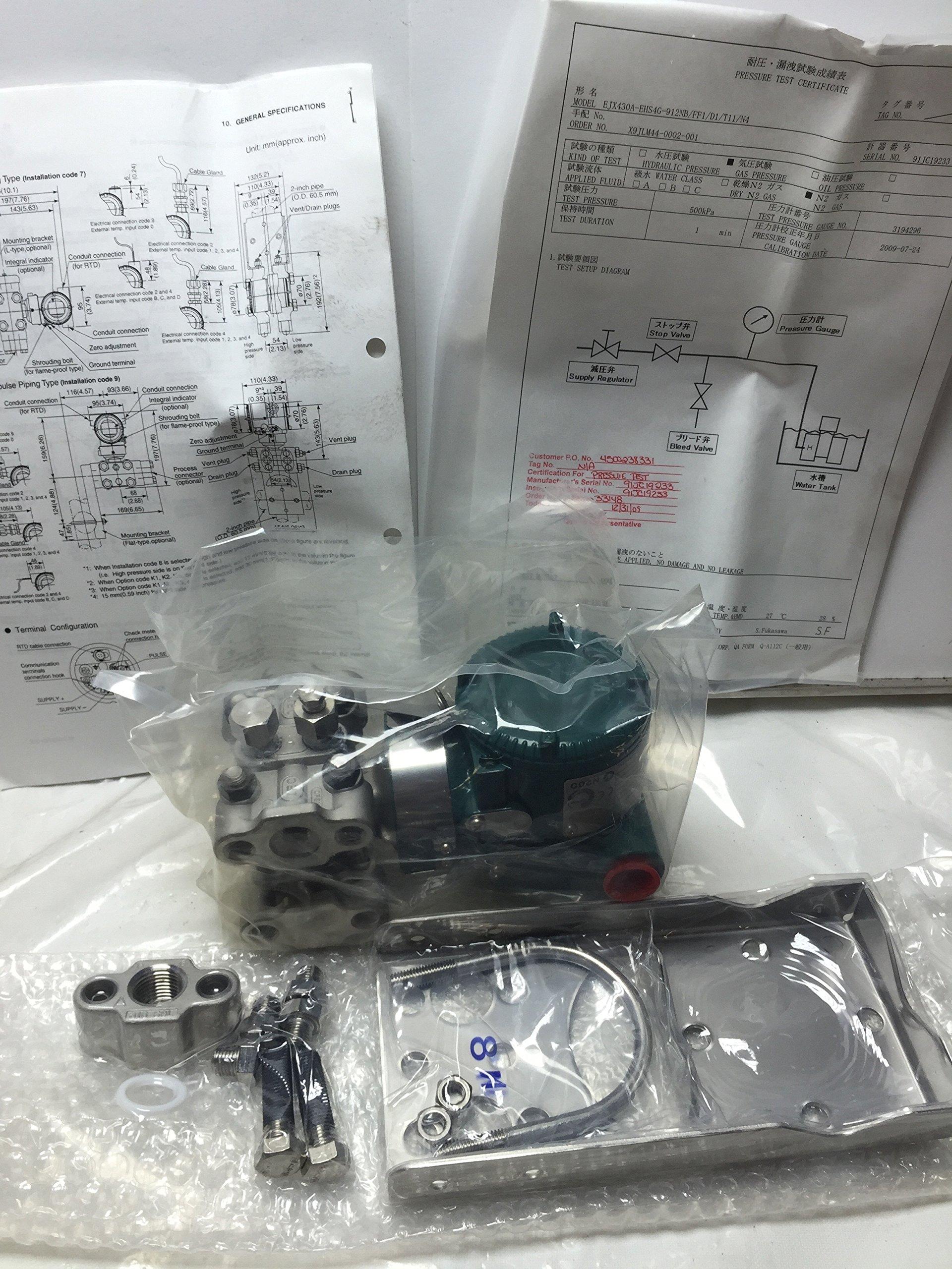 Ejx430A-Ehs4G-912Nb/Ff1/D1/T11/N4 Pressure Transmitter