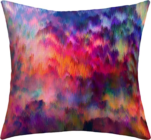 Deny Designs Amy Sia Sunset Storm Outdoor Throw Pillow, 18 by 18-Inch