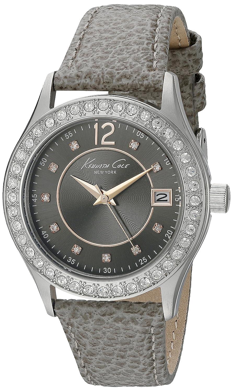 Amazon.com: Kenneth Cole New York Womens 10020852 Classic Analog Display Japanese Quartz Grey Watch: Watches