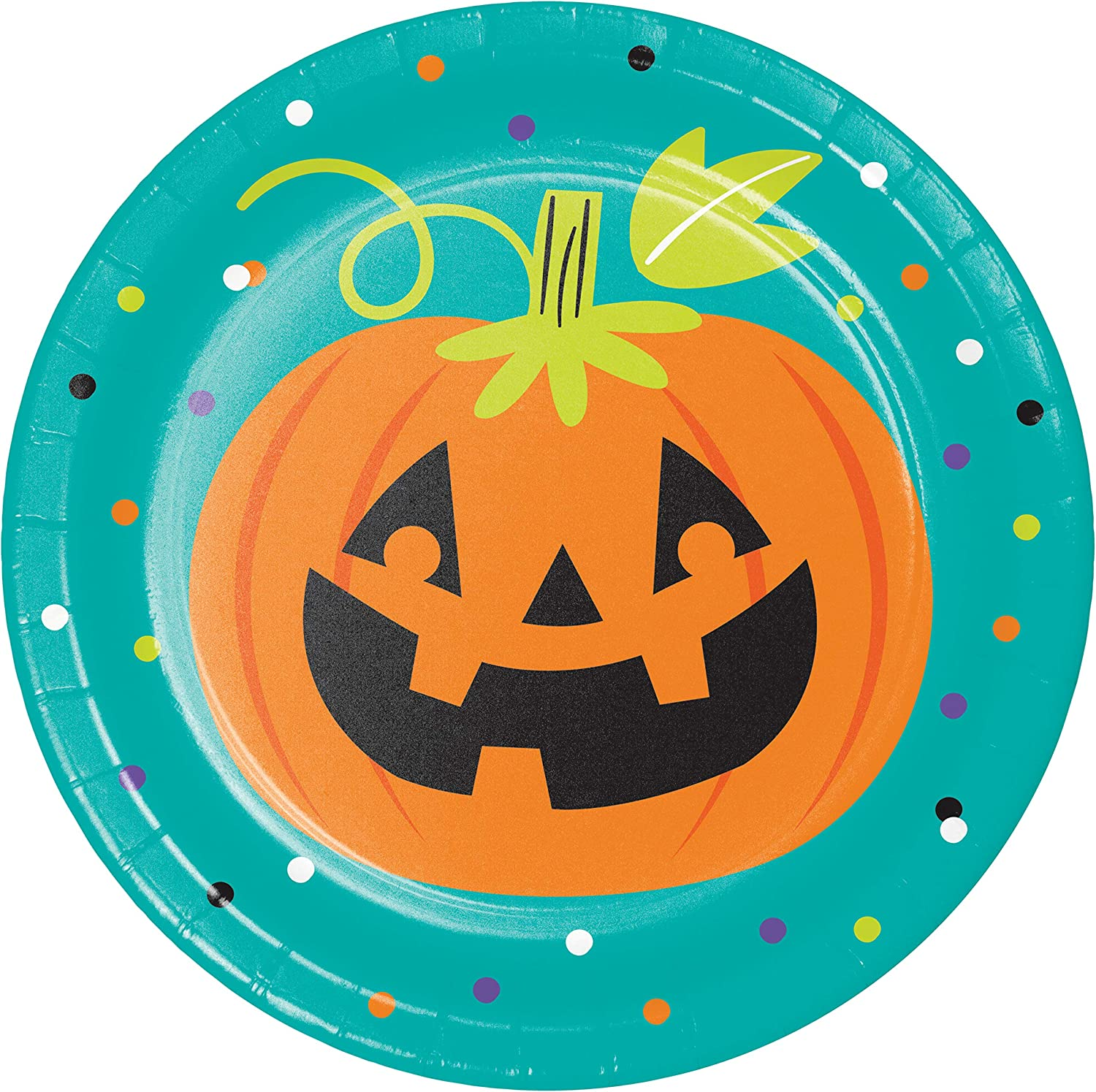 Friends of Halloween Dessert Plates, 24 ct