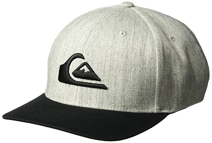 on sale 3dc63 0dbe6 Quiksilver Men s Mountain and Wave Hat, Medium Grey Heather, ...
