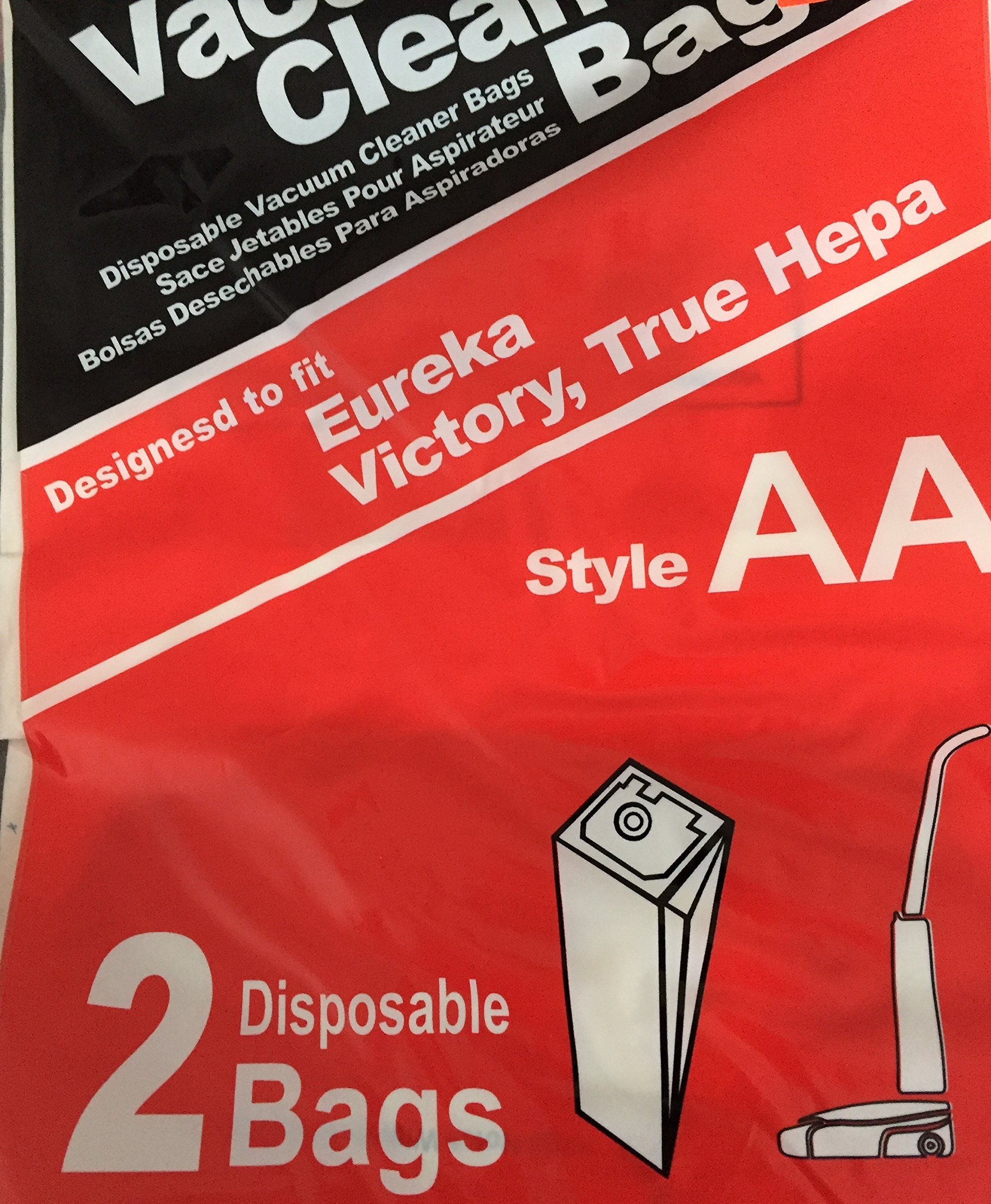 Vacuum Cleaner Bags Style AA - 2 Disposable Bags