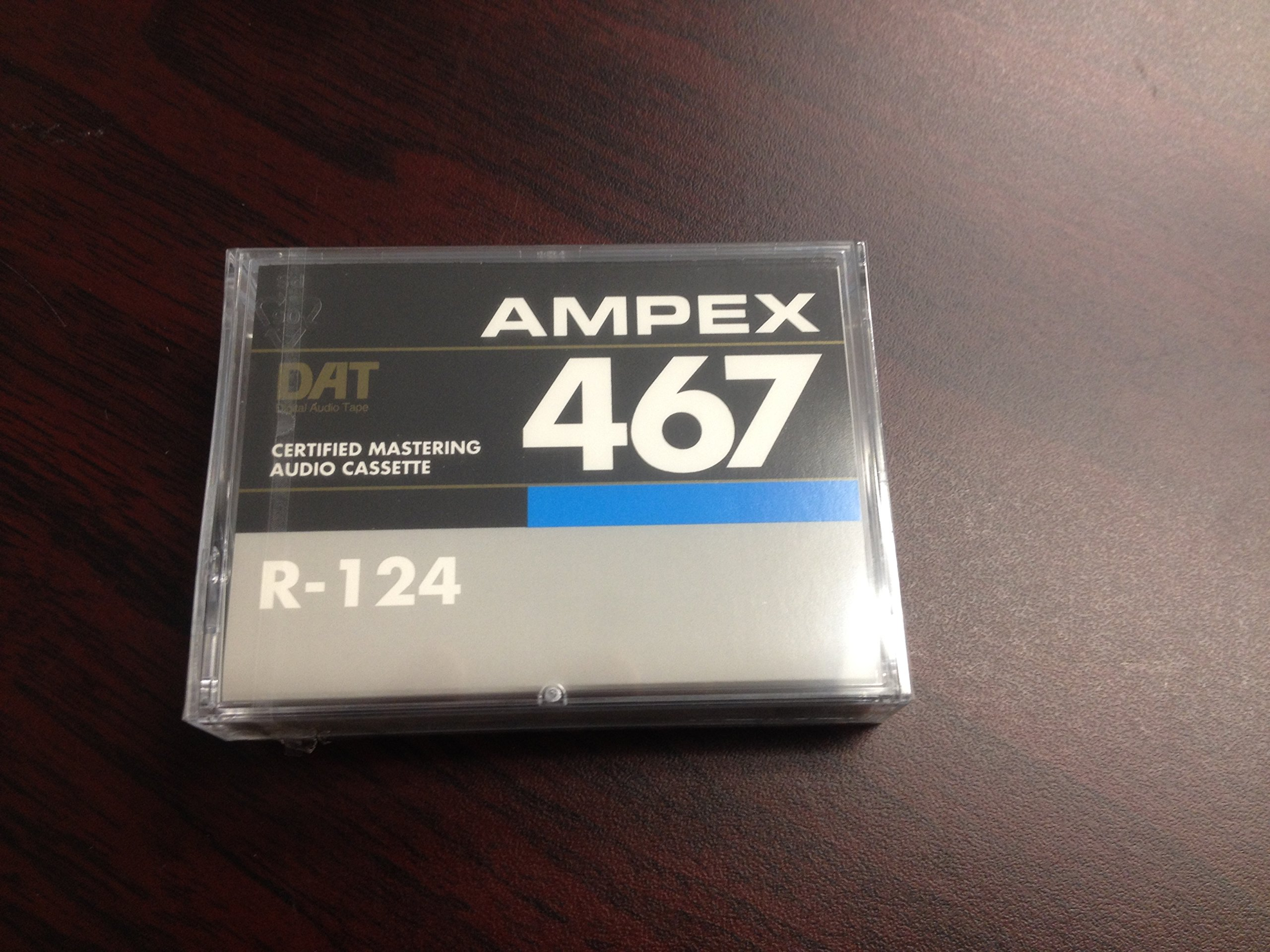 Ampex/ Quantegy 467- 124 Minute Certified Mastering DAT Audio Cassette10-Pack by Ampex/ Quantegy