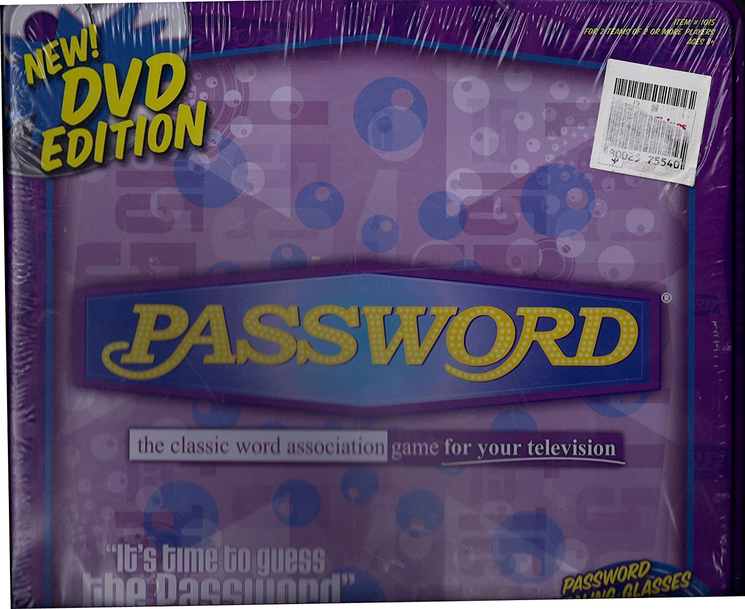 Password New DVD Edition The Classic Word Association Game for ...