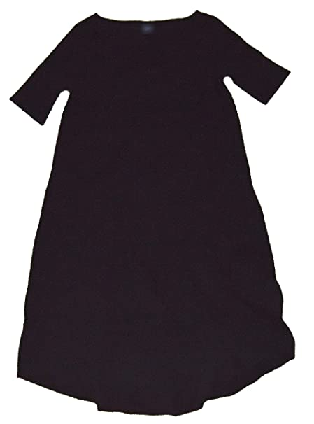 3e4c5b47dbe65 Image Unavailable. Image not available for. Color: GAP Maternity Womens  Black Assymetrical Hem T-Shirt Dress Large