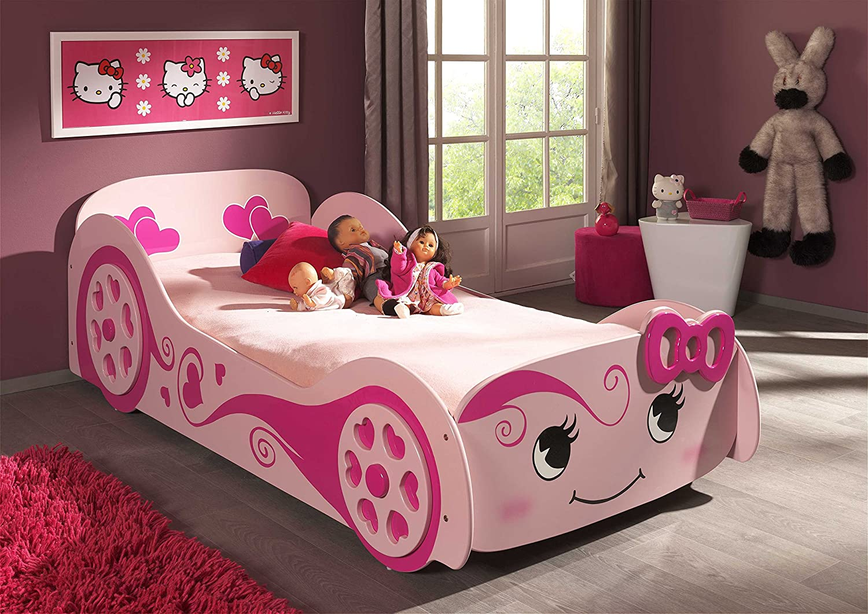 VIPACK SCLB200 Autobett Pretty Girl Love Car Bed, circa 213 x 68 x ...