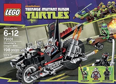 Amazon.com: LEGO Ninja Turtles Shredder Dragon Bike 79101 ...