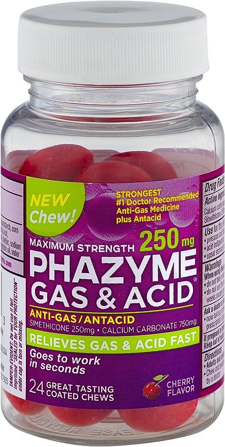 Prophylactic reception phazyme in preparation