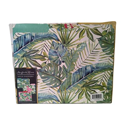 Sheffield Home Upscale File Folder 9 piece (9 Folders) (Tropical