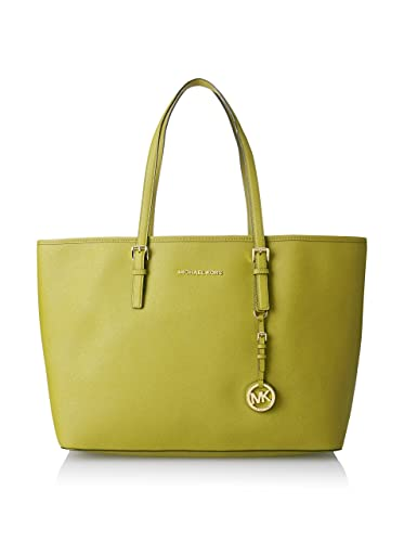 d47f056da3af Michael Kors Medium Multifunction Tote Apple Leather Jet Set: Handbags:  Amazon.com