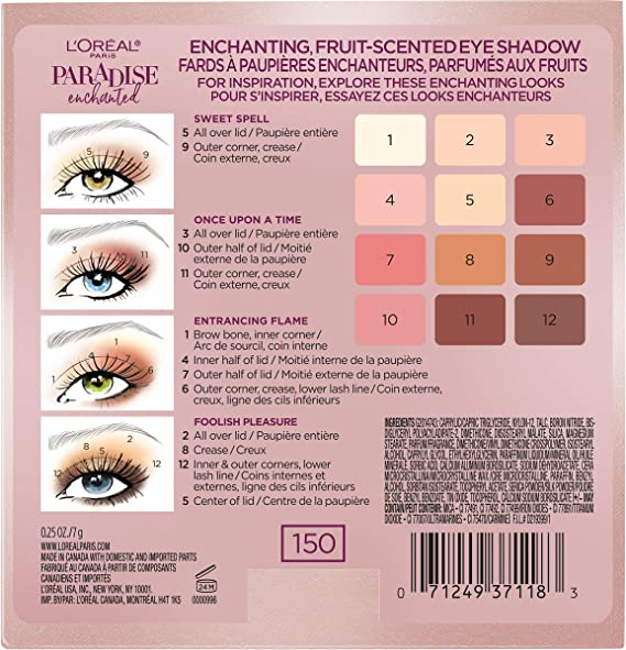 Loreal paradise sombras