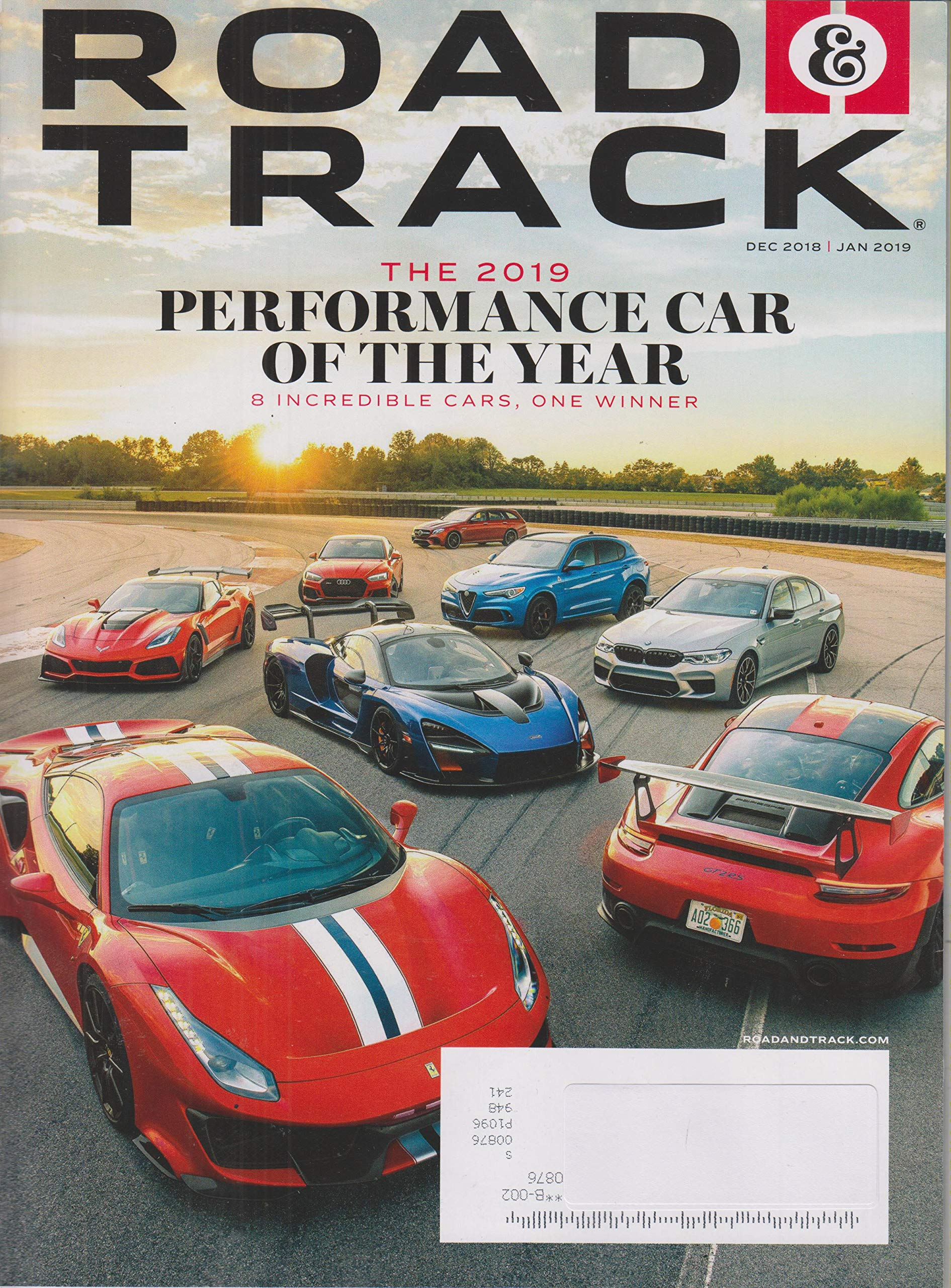 Pay Roadandtrack Com >> Road Track December 2018 January 2019 The 2019 Performance Car Of