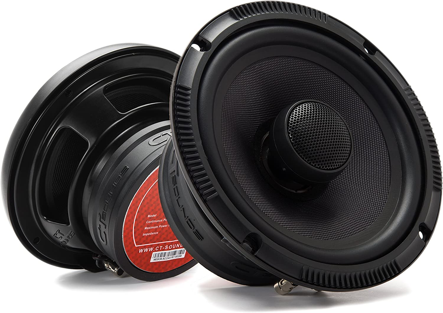 CT Sounds 6.5 Inch Coaxial Car Speakers