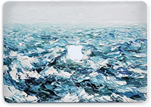 Ocean Waves Womens Air 11 A1370 1465 Laptop Case 11 12 13 15 16 inch Shell Case Plastic Hard Cover Sea Art