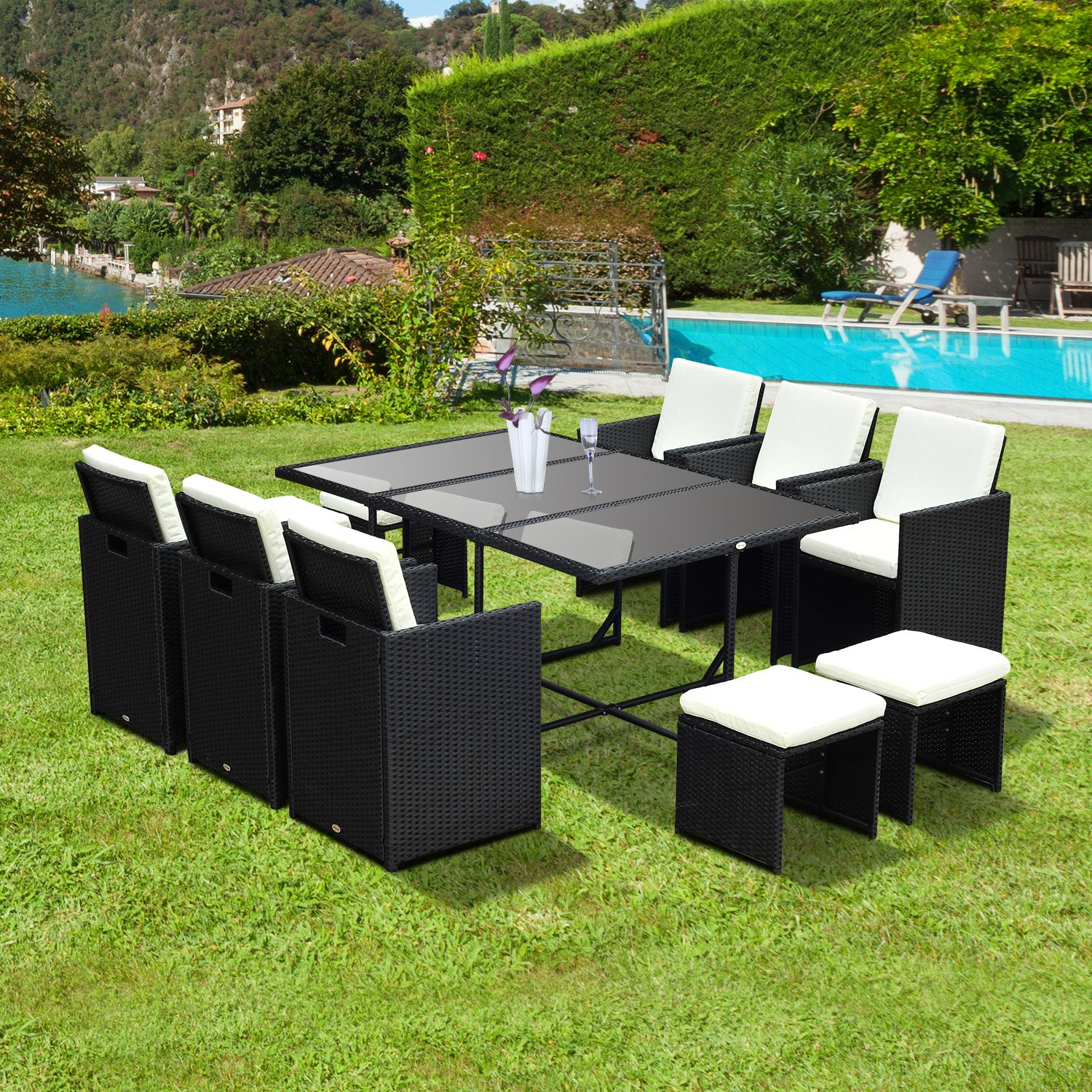 ... Rattan Garden Furniture 6 Seater