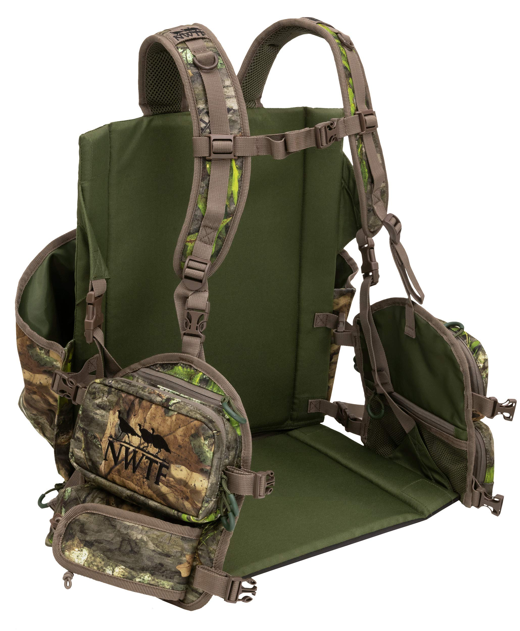 ALPS OutdoorZ NWTF Impact Turkey Vest Small, Mossy Oak Obsession