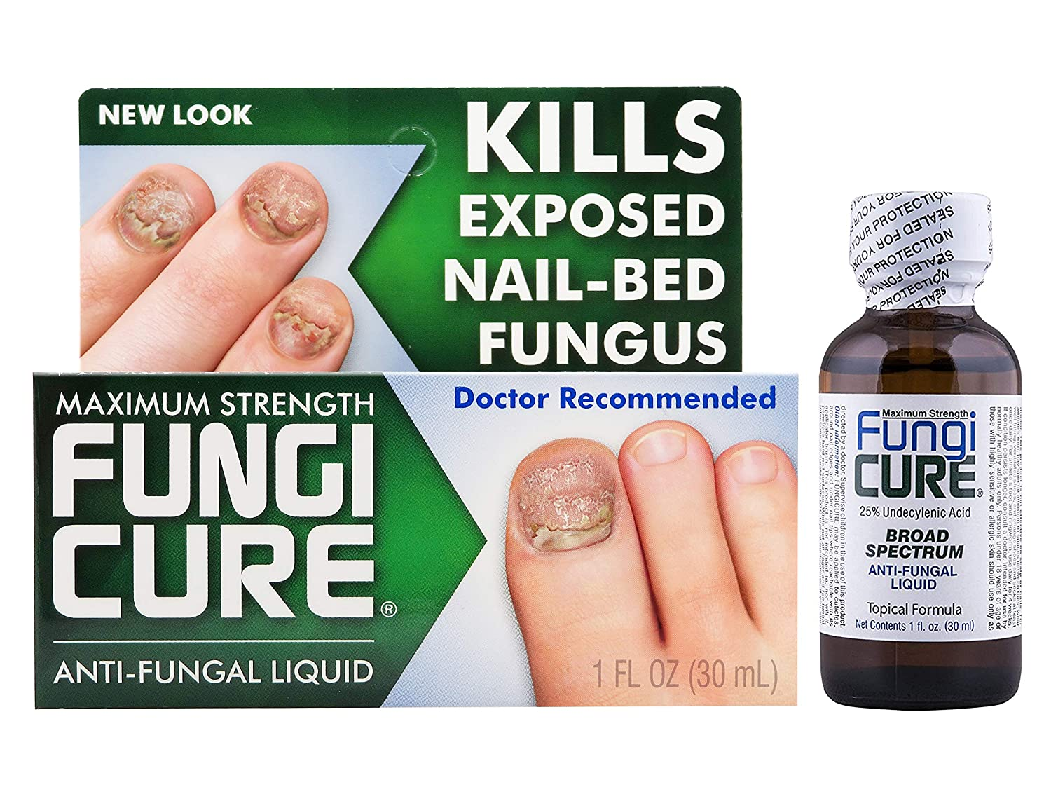 Antifungal preparations for nails
