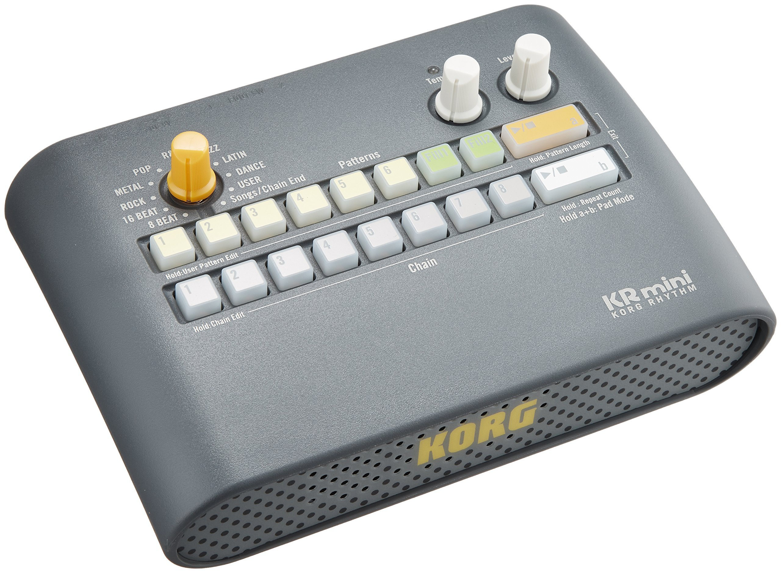 Korg KR mini Rhythm Machine (International Version - No Warranty) by Korg