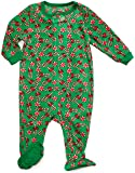 Leveret Footed Fleece Sleeper Candy Cane 18-24 M