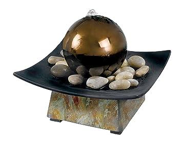 Amazon.com : Kenroy Home 50235SL Sphere Indoor Table Fountain ...