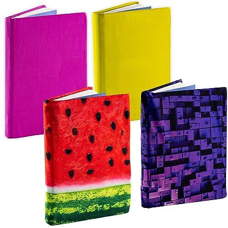 Amazon.com: Jumbo, funda de libro elástica color 4 unidades ...