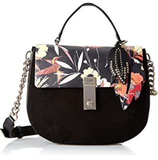 GUESS Mckenna Floral Top Handle Flap