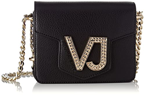 3d301140ede3 Versace Jeans Women s EE1VRBBC1 E70034 Cross-Body Bag Black Black (Nero  E899)