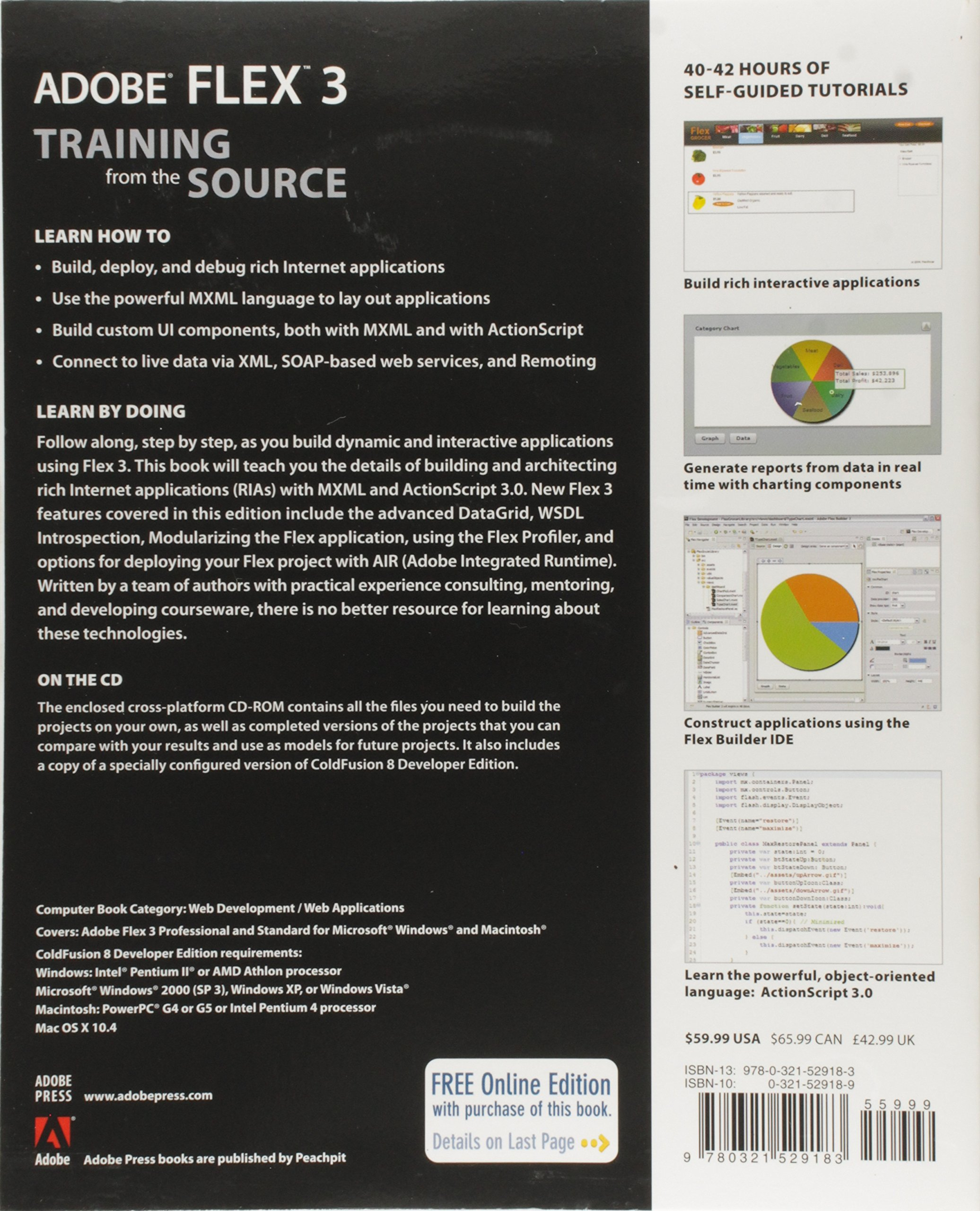 Adobe Flex 3: Training from the Source - Livros na Amazon Brasil-  0785342529180