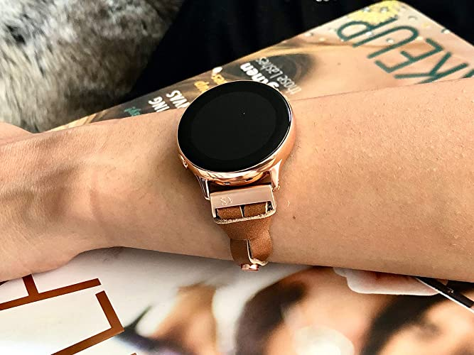 Amazon.com: Bronze Brown Leather & Rose Gold Jewelry ...