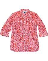 Tommy Hilfiger Women's Roll-Tab Shirt