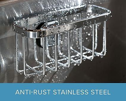Kitchen Sink Sponge Holder.Amazon Com Stauber Best Sponge Holder Stainless Steel