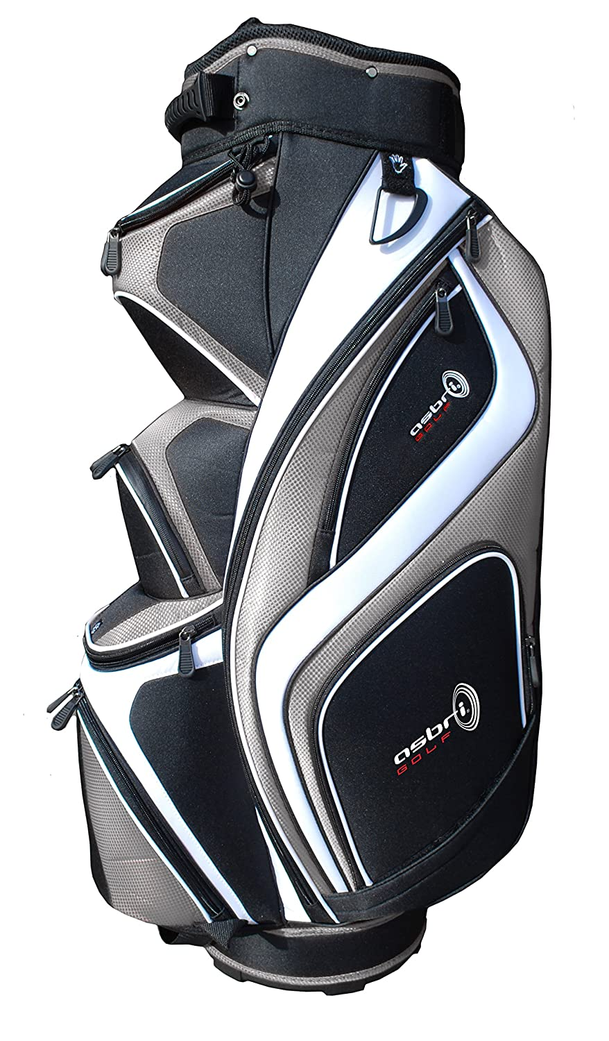 Asbri Golf XP14 Cart - Bolsa de Carro para Palos de Golf ...