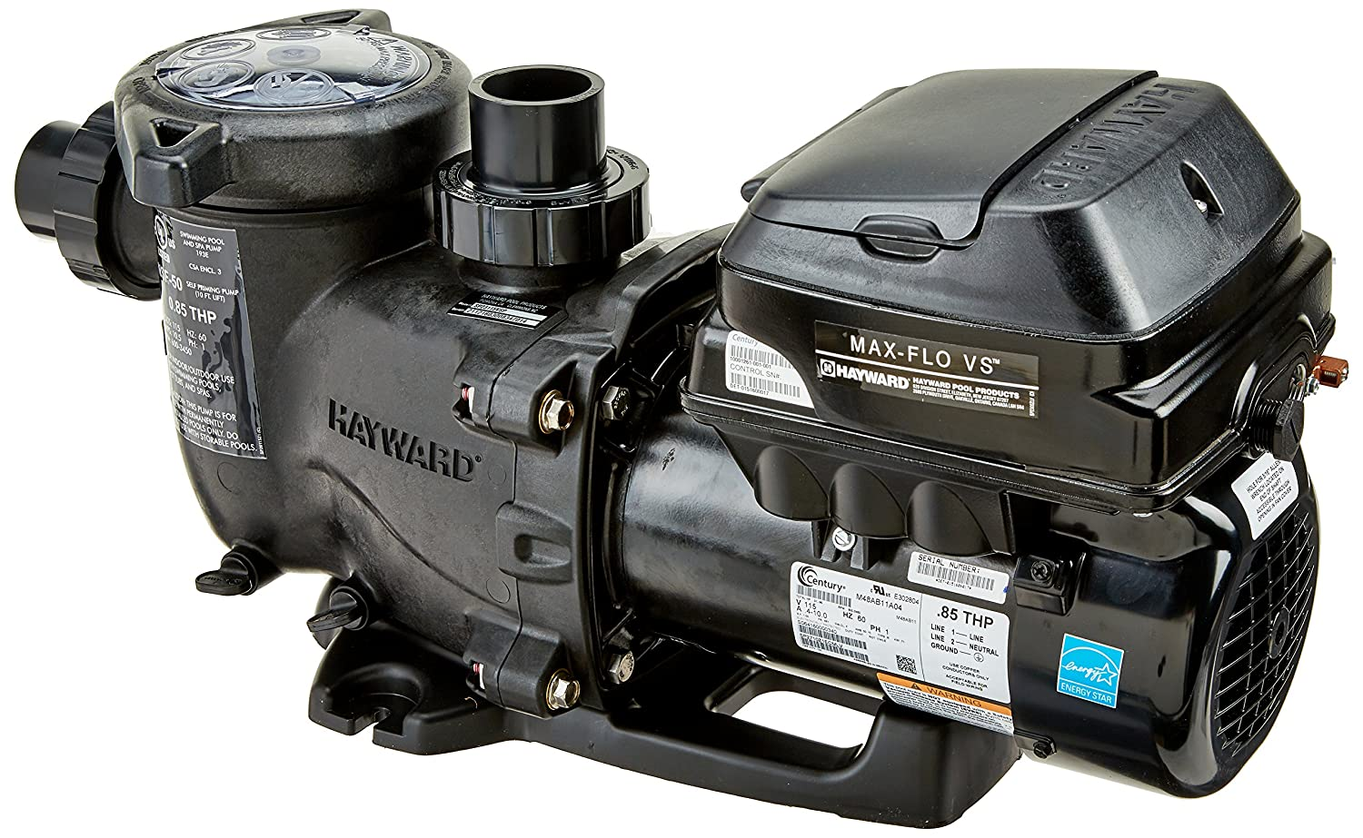 91caRGw8ksL._SL1500_ amazon com hayward sp2303vsp maxflo vs variable speed pool pump Hayward Pro Max at aneh.co