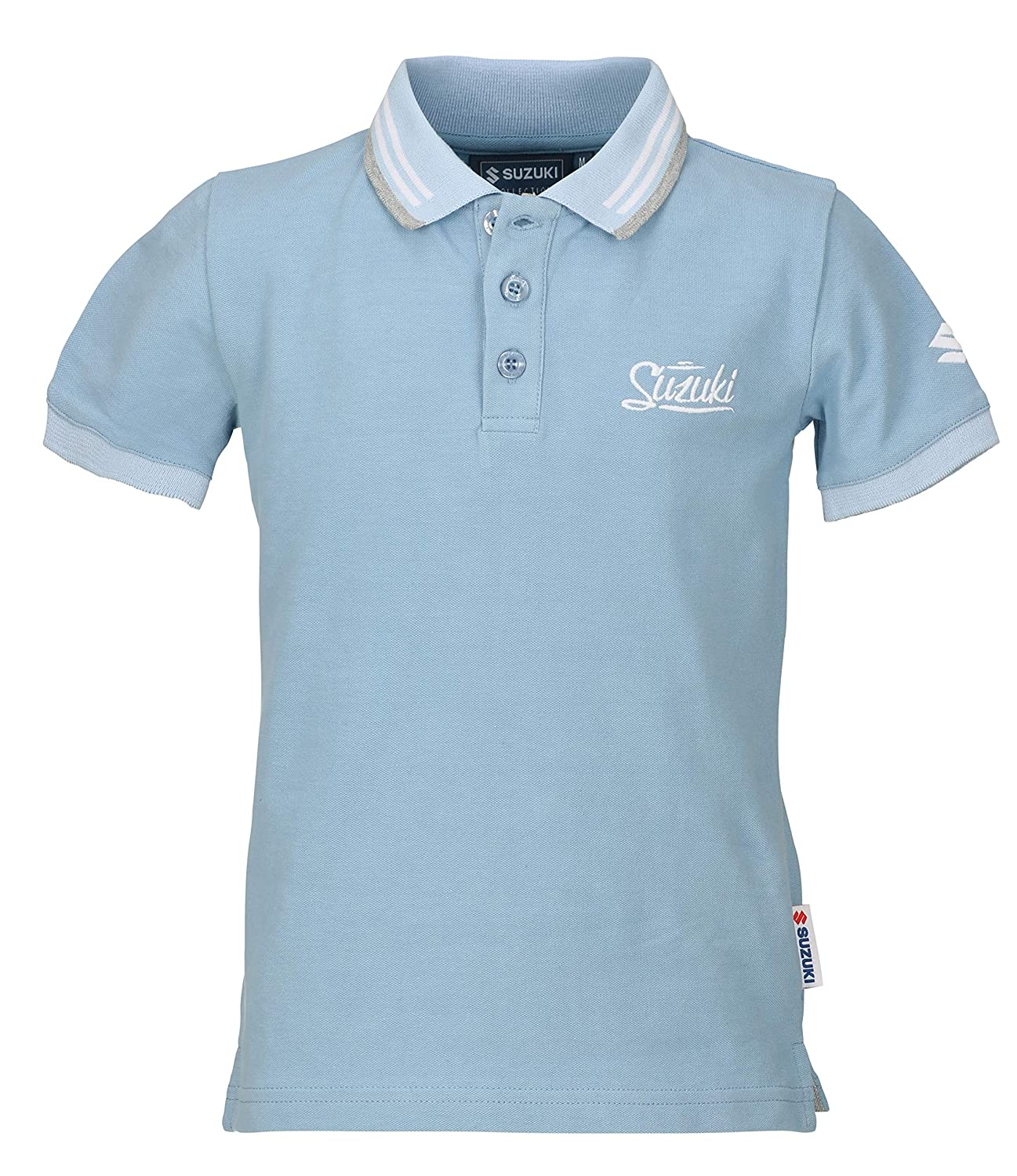 Suzuki Fashion Basic - Polo para niños, Color Azul: Amazon.es ...