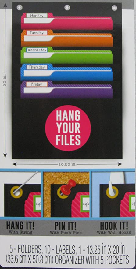777f60d6903a Amazon.com : 5-Pocket File Folder Organizer : Office Products