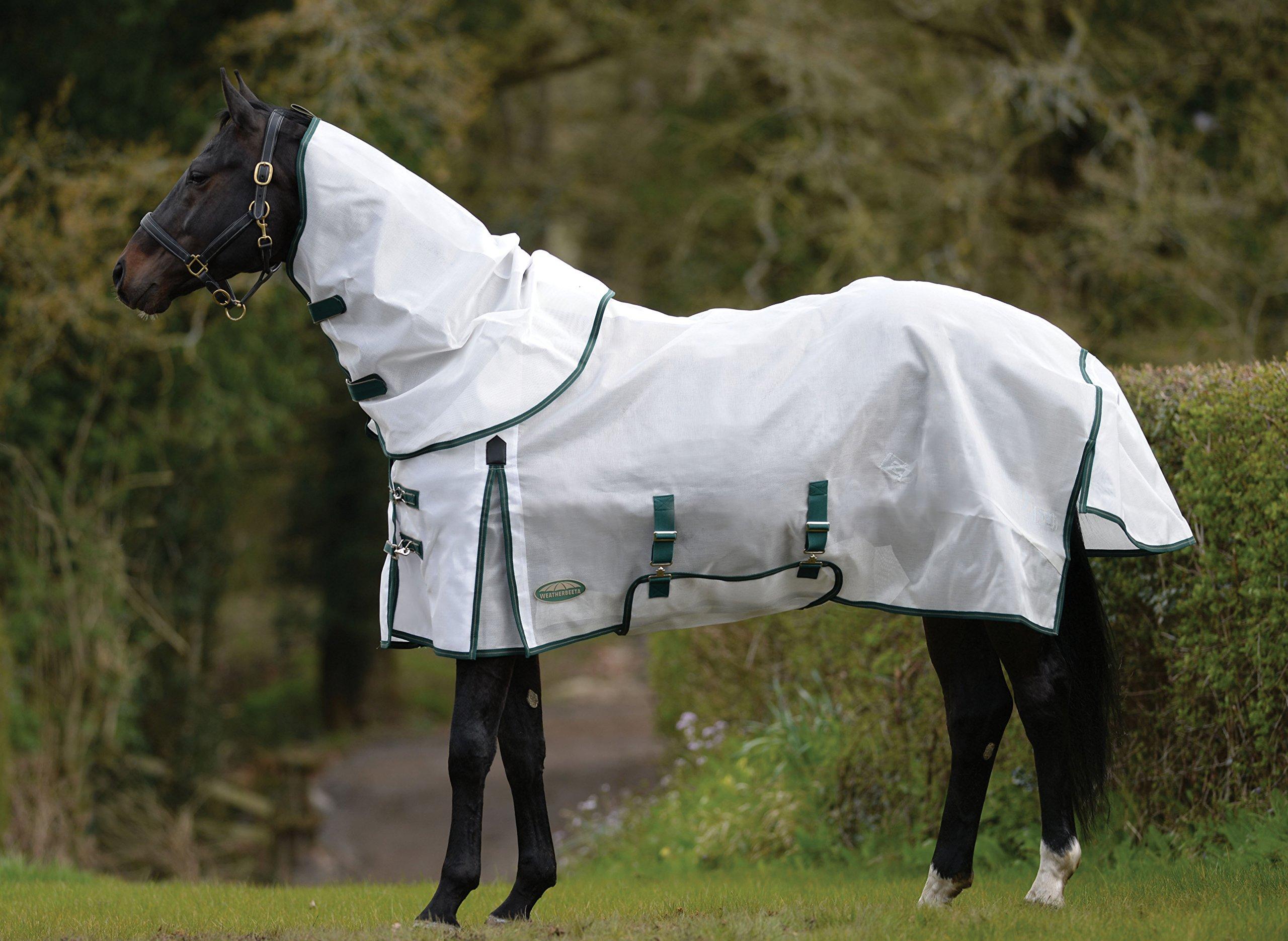 Weatherbeeta Comfitec Dura-Mesh Detach A Neck White/Green 72''