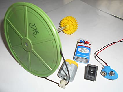Vyga Project Kit, 300/100 mm Pulley Wheel + Shaft (Axle) + 1 Spur