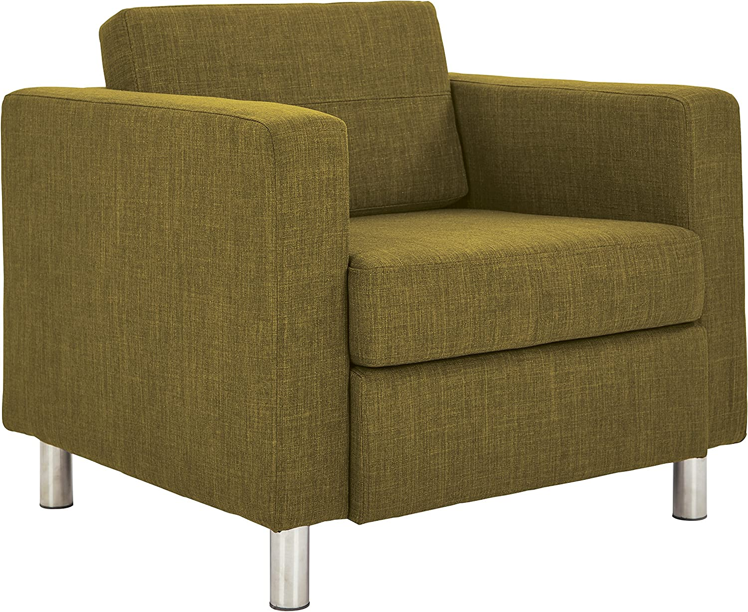 OSP Home Furnishings Armchair, Green