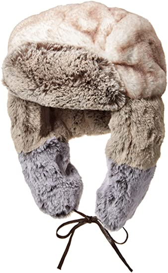 857308575bbc0 Kangol Men s Multi Faux Fur Trapper Hat  Amazon.co.uk  Clothing