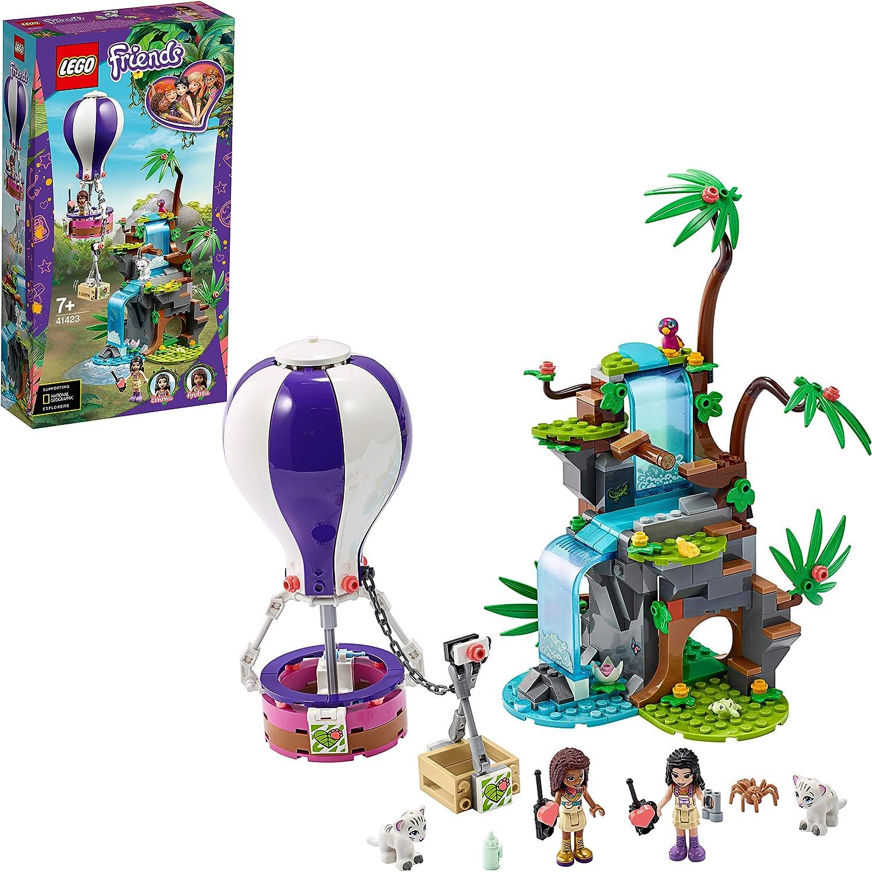 レゴ(LEGO) フレンズ ホワイトタイガーの熱気球ジャングルレスキュー 41423