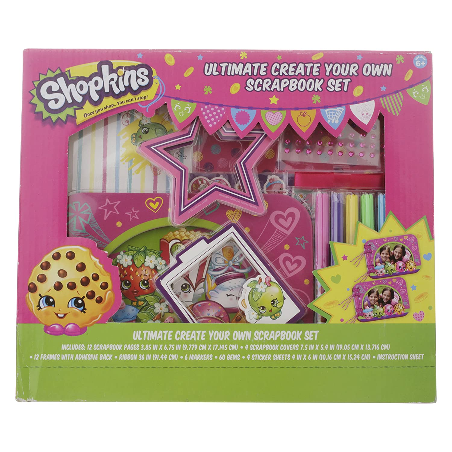 Shopkins Ultimate Create Your Own Scrapbook Set Innovative Designs