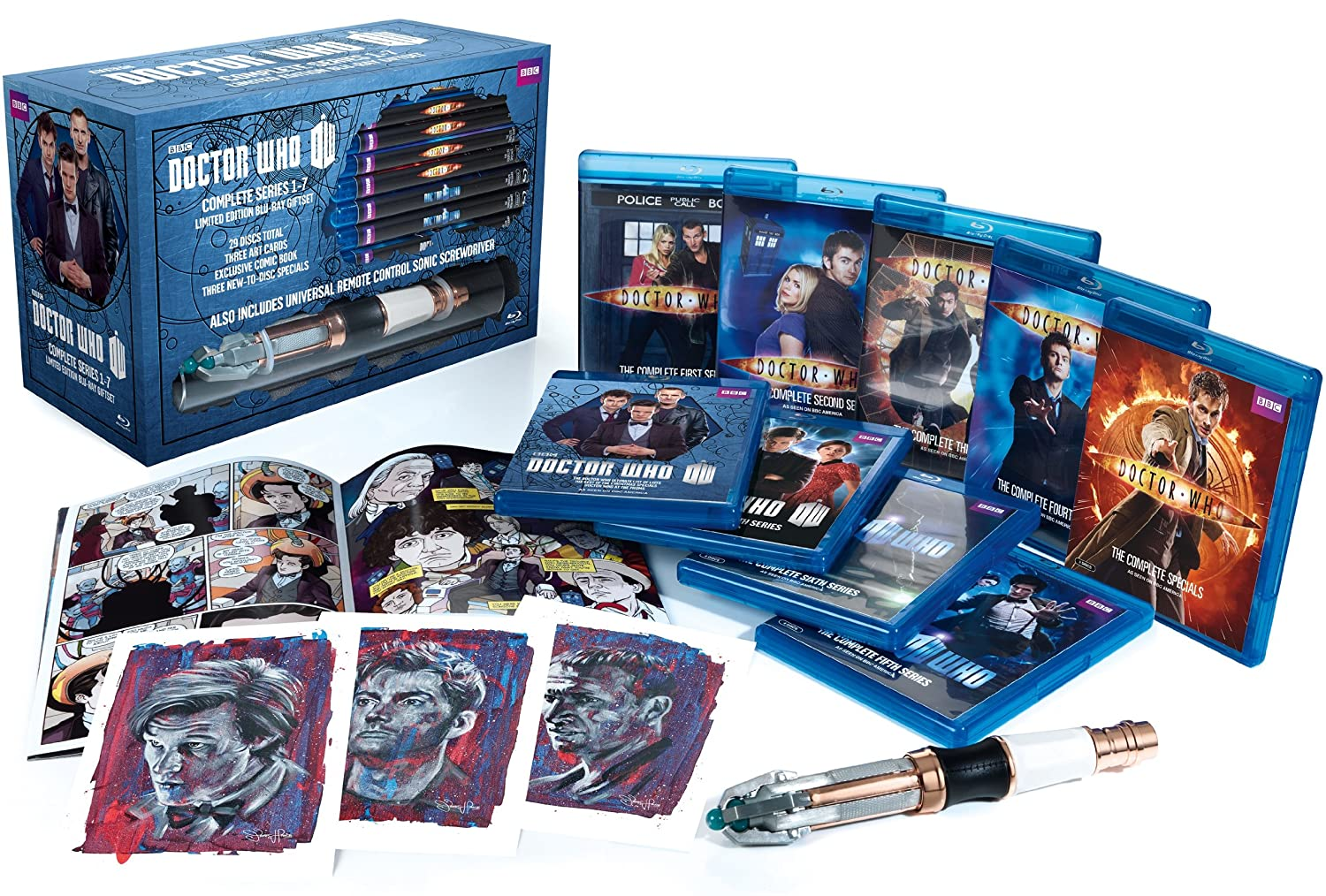 Amazon.com Doctor Who Series 1-7 Limited Edition Blu-ray Giftset Matt Smith David Tennant Christopher Eccleston Jenna-Louise Coleman Various Movies ...  sc 1 st  Amazon.com & Amazon.com: Doctor Who: Series 1-7 Limited Edition Blu-ray Giftset ... Aboutintivar.Com